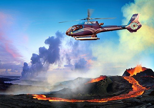 Circle Of Fire Helicopter Tour Hawaii