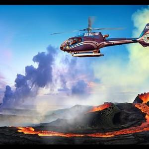 Big island Hawaii Vulkan ansehen