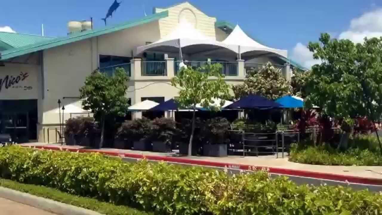 Nicos Restaurant im Fischer Hafen auf Oahu in Hawaii